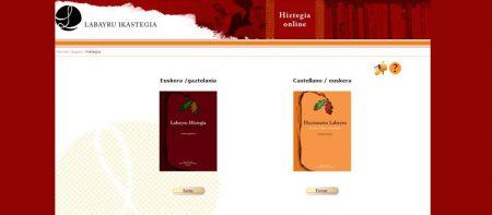 Labayruren hiztegi kontestuduna on-line