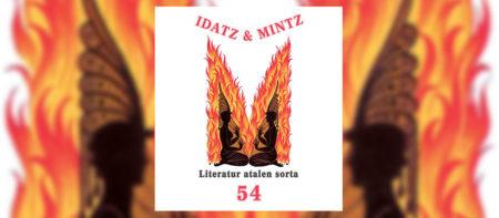 Idatz & Mintz literatur aldizkariaren 54. zenbakia