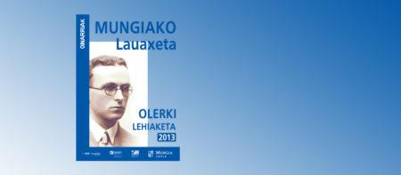 Lauaxeta Olerki Leihaketa 2013