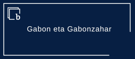 Gabon eta Gabonzahar