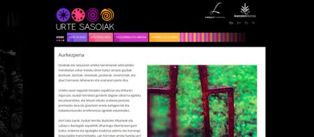 Urte sasoiak webgune barria