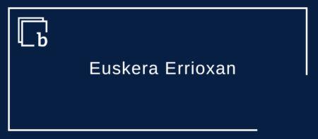 Euskera Errioxan