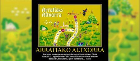 «Arratiako altxorra» jolasa