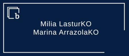 Milia LasturKO, Marina ArrazolaKO eta Ama Birjina Karmengoa