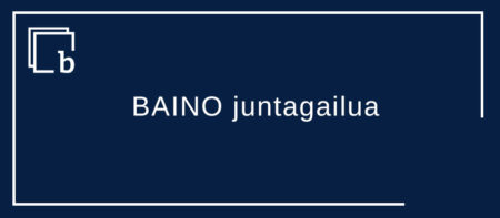 BAINO juntagailu aurkari gisa