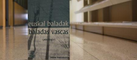 Jabier Kalzakortak euskal baladen antologia prestau dau
