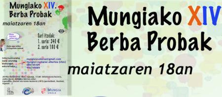 Badatoz aurtengo Mungiako berba probak