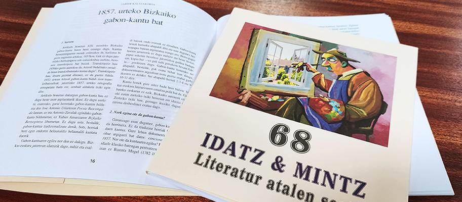 Idatz & Mintz literatur aldizkariaren ale barria