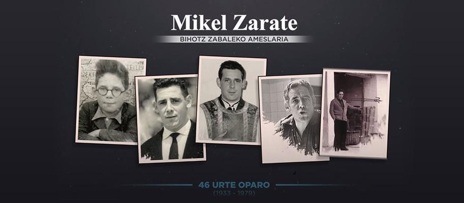 Mikel Zarate gogoan